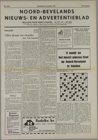 Noord-Bevelands Nieuws- en advertentieblad 1981-11-26