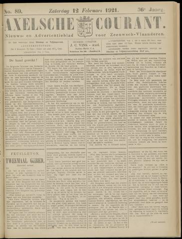 Axelsche Courant 1921-02-12