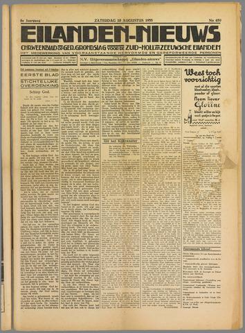 Eilanden-nieuws. Christelijk streekblad op gereformeerde grondslag 1935-08-10