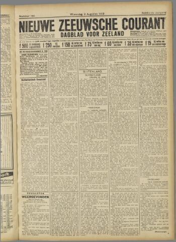 Nieuwe Zeeuwsche Courant 1922-08-09