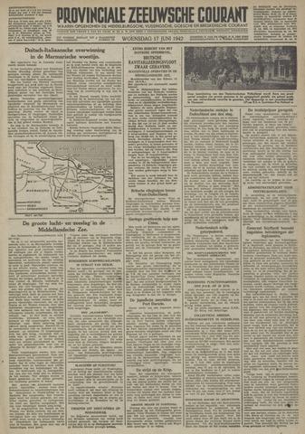 Provinciale Zeeuwse Courant 1942-06-17
