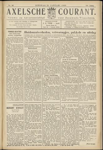 Axelsche Courant 1939-01-31