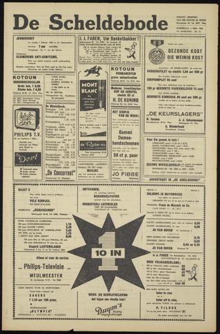 Scheldebode 1960-02-04