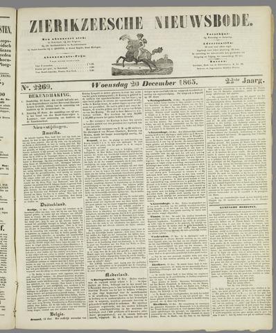 Zierikzeesche Nieuwsbode 1865-12-20