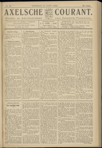 Axelsche Courant 1932-06-14