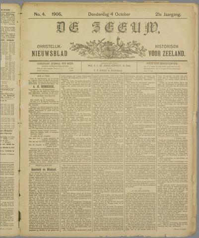 De Zeeuw. Christelijk-historisch nieuwsblad voor Zeeland 1906-10-04