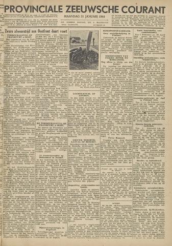 Provinciale Zeeuwse Courant 1944-01-31