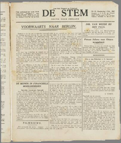 de Stem 1945-02-01