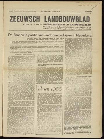 Zeeuwsch landbouwblad ... ZLM land- en tuinbouwblad 1955-04-09