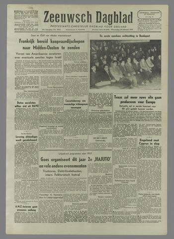 Zeeuwsch Dagblad 1957-02-20