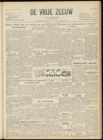 de Vrije Zeeuw 1957-02-08