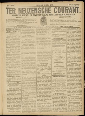 Ter Neuzensche Courant. Algemeen Nieuws- en Advertentieblad voor Zeeuwsch-Vlaanderen / Neuzensche Courant ... (idem) / (Algemeen) nieuws en advertentieblad voor Zeeuwsch-Vlaanderen 1919-06-14