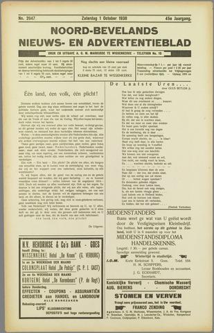 Noord-Bevelands Nieuws- en advertentieblad 1938-10-01
