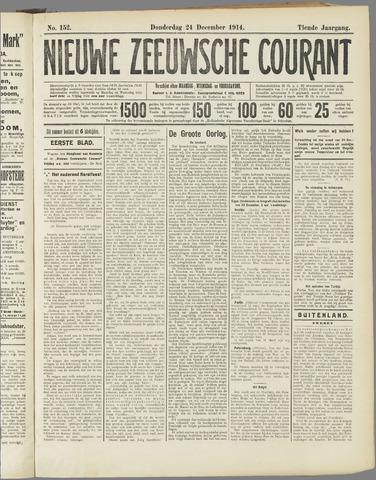 Nieuwe Zeeuwsche Courant 1914-12-24