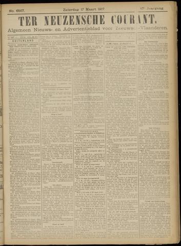 Ter Neuzensche Courant. Algemeen Nieuws- en Advertentieblad voor Zeeuwsch-Vlaanderen / Neuzensche Courant ... (idem) / (Algemeen) nieuws en advertentieblad voor Zeeuwsch-Vlaanderen 1917-03-17