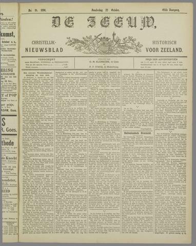 De Zeeuw. Christelijk-historisch nieuwsblad voor Zeeland 1896-10-22