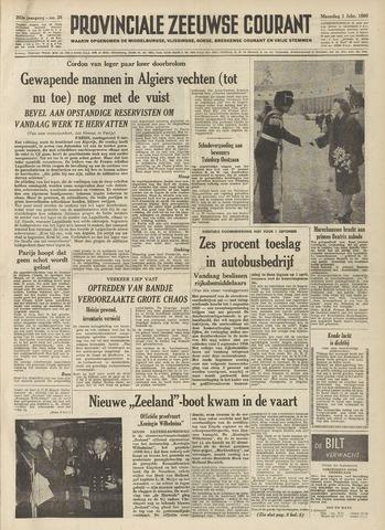 Provinciale Zeeuwse Courant 1960-02-01