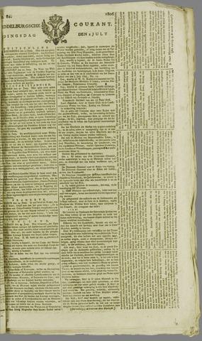 Middelburgsche Courant 1806-07-01