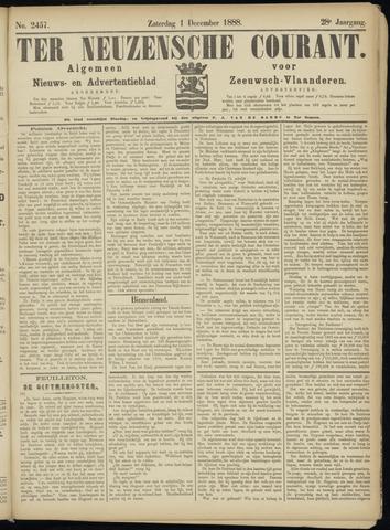 Ter Neuzensche Courant. Algemeen Nieuws- en Advertentieblad voor Zeeuwsch-Vlaanderen / Neuzensche Courant ... (idem) / (Algemeen) nieuws en advertentieblad voor Zeeuwsch-Vlaanderen 1888-12-01