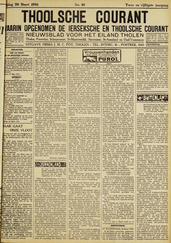 Ierseksche en Thoolsche Courant 1935-03-29