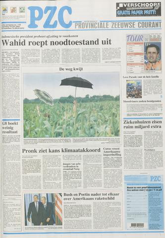 Provinciale Zeeuwse Courant 2001-07-23