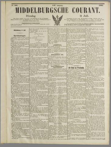 Middelburgsche Courant 1905-07-11
