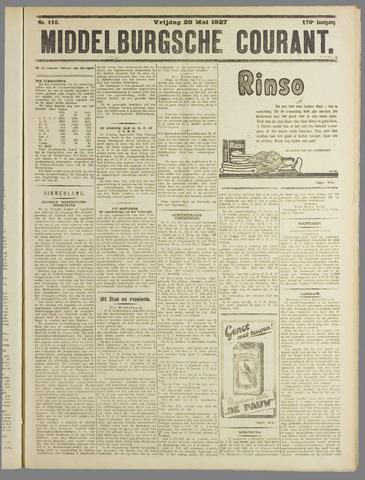 Middelburgsche Courant 1927-05-20