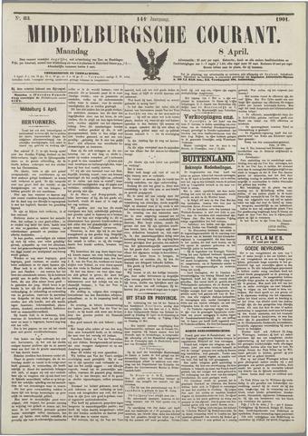 Middelburgsche Courant 1901-04-08