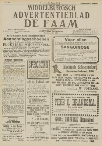 de Faam en de Faam/de Vlissinger 1915-03-24