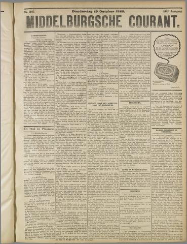 Middelburgsche Courant 1922-10-19