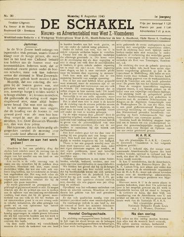 De Schakel 1945-08-06