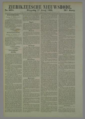 Zierikzeesche Nieuwsbode 1882-06-27