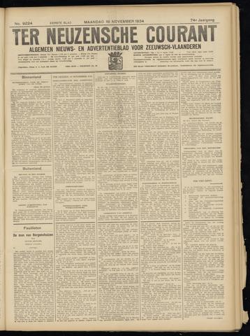 Ter Neuzensche Courant. Algemeen Nieuws- en Advertentieblad voor Zeeuwsch-Vlaanderen / Neuzensche Courant ... (idem) / (Algemeen) nieuws en advertentieblad voor Zeeuwsch-Vlaanderen 1934-11-19