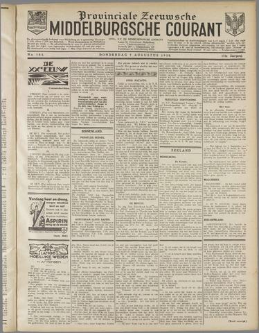 Middelburgsche Courant 1930-08-07