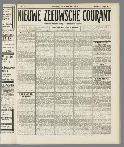 Nieuwe Zeeuwsche Courant 1907-11-19