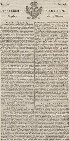 Middelburgsche Courant 1763-10-11