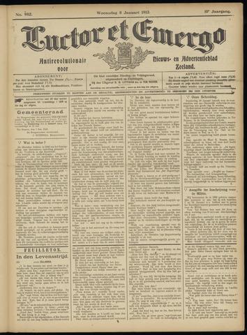 Luctor et Emergo. Antirevolutionair nieuws- en advertentieblad voor Zeeland / Zeeuwsch-Vlaanderen. Orgaan ter verspreiding van de christelijke beginselen in Zeeuwsch-Vlaanderen 1913-01-08