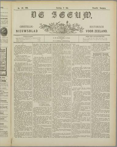 De Zeeuw. Christelijk-historisch nieuwsblad voor Zeeland 1898-07-09
