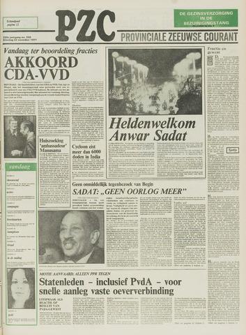 Provinciale Zeeuwse Courant 1977-11-22
