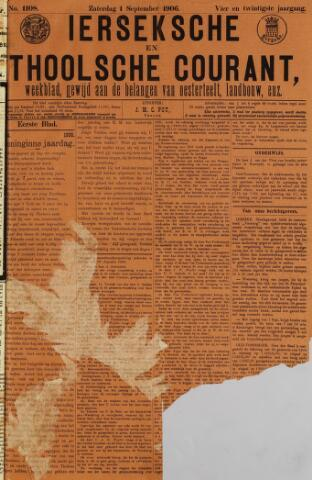 Ierseksche en Thoolsche Courant 1906-09-01