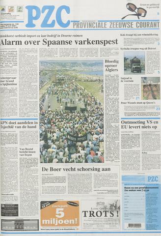 Provinciale Zeeuwse Courant 2001-06-15