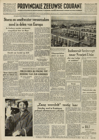 Provinciale Zeeuwse Courant 1956-03-05