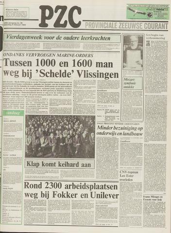 Provinciale Zeeuwse Courant 1983-02-05