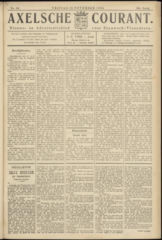 Axelsche Courant 1934-11-16