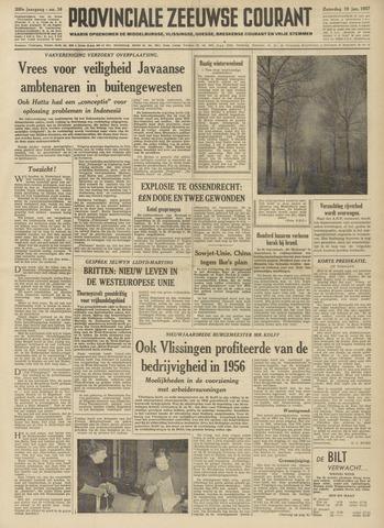 Provinciale Zeeuwse Courant 1957-01-19