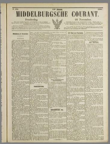 Middelburgsche Courant 1906-11-22
