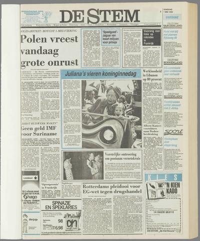 de Stem 1984-05-01