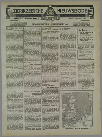 Zierikzeesche Nieuwsbode 1941-02-24