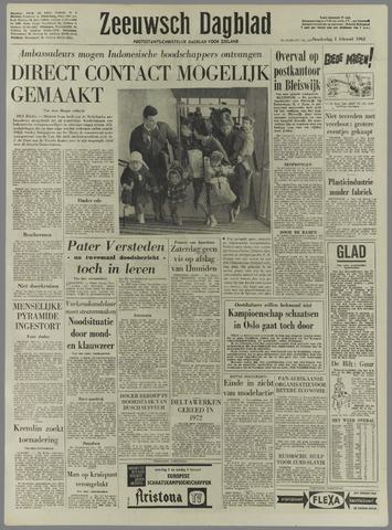 Zeeuwsch Dagblad 1962-02-01
