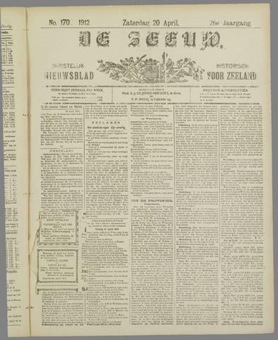 De Zeeuw. Christelijk-historisch nieuwsblad voor Zeeland 1912-04-20